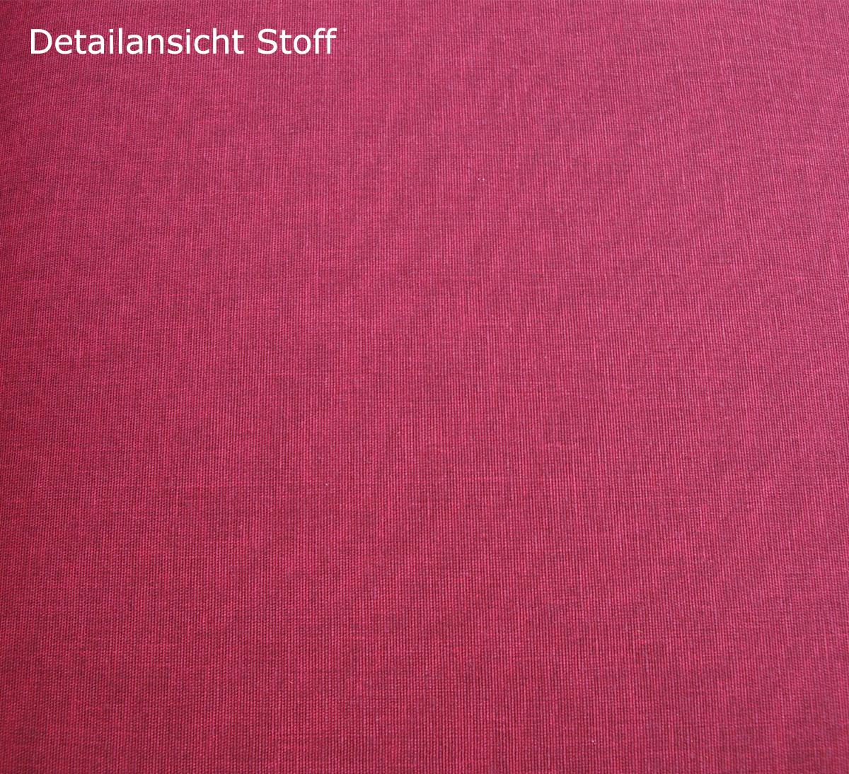 Auflage TACOMA für Bank 3-sitzer, rot
