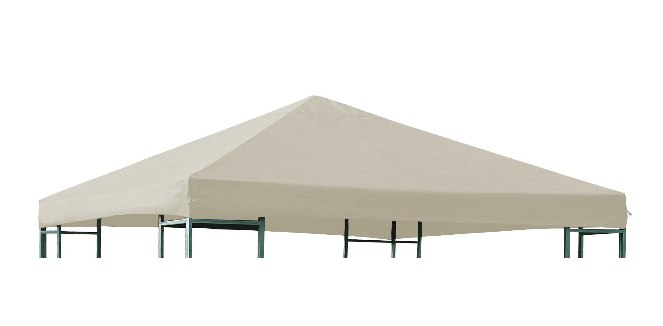 Universal-Ersatzdach für Pavillon 3x3 Meter, écru