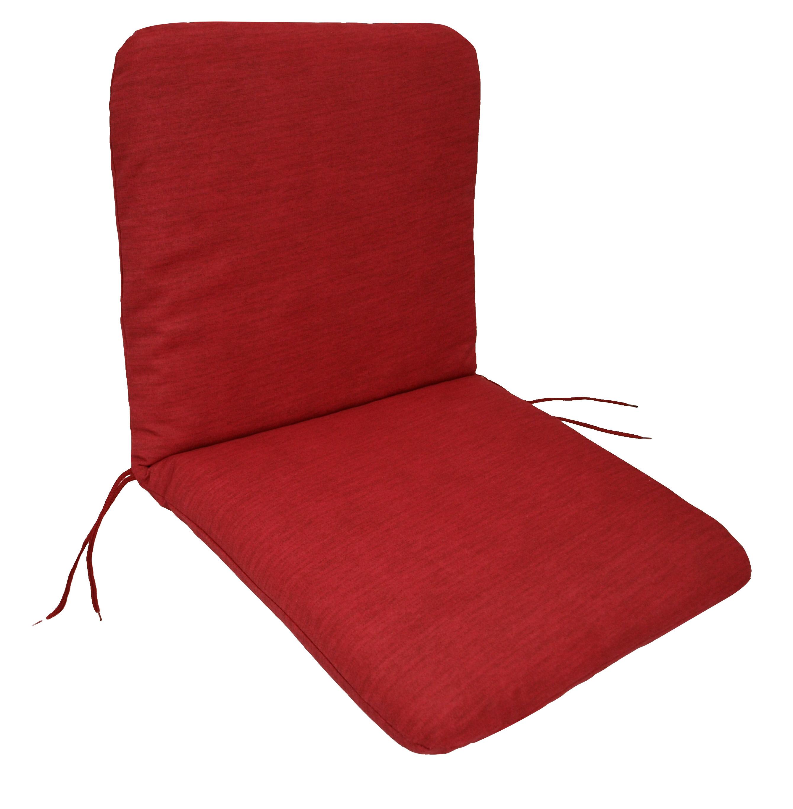 Auflage TACOMA für Sessel, rot