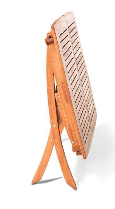 Ausziehtisch MARACAIBO 110/160x90cm, Eukalyptus geölt, klappbar, FSC®