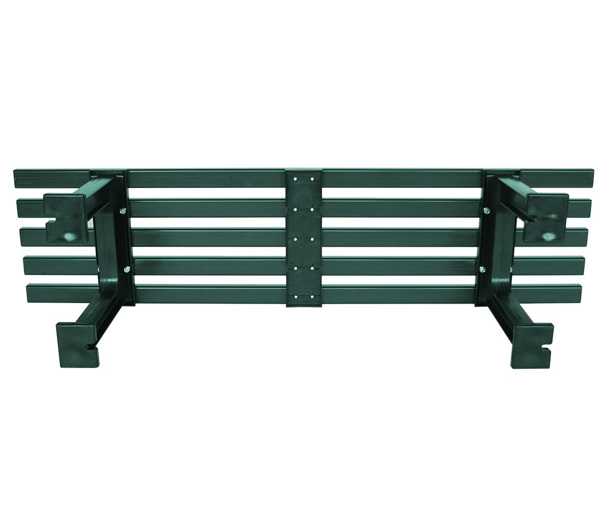 Hockerbank MONO 3-sitzer, Kunststoff grün