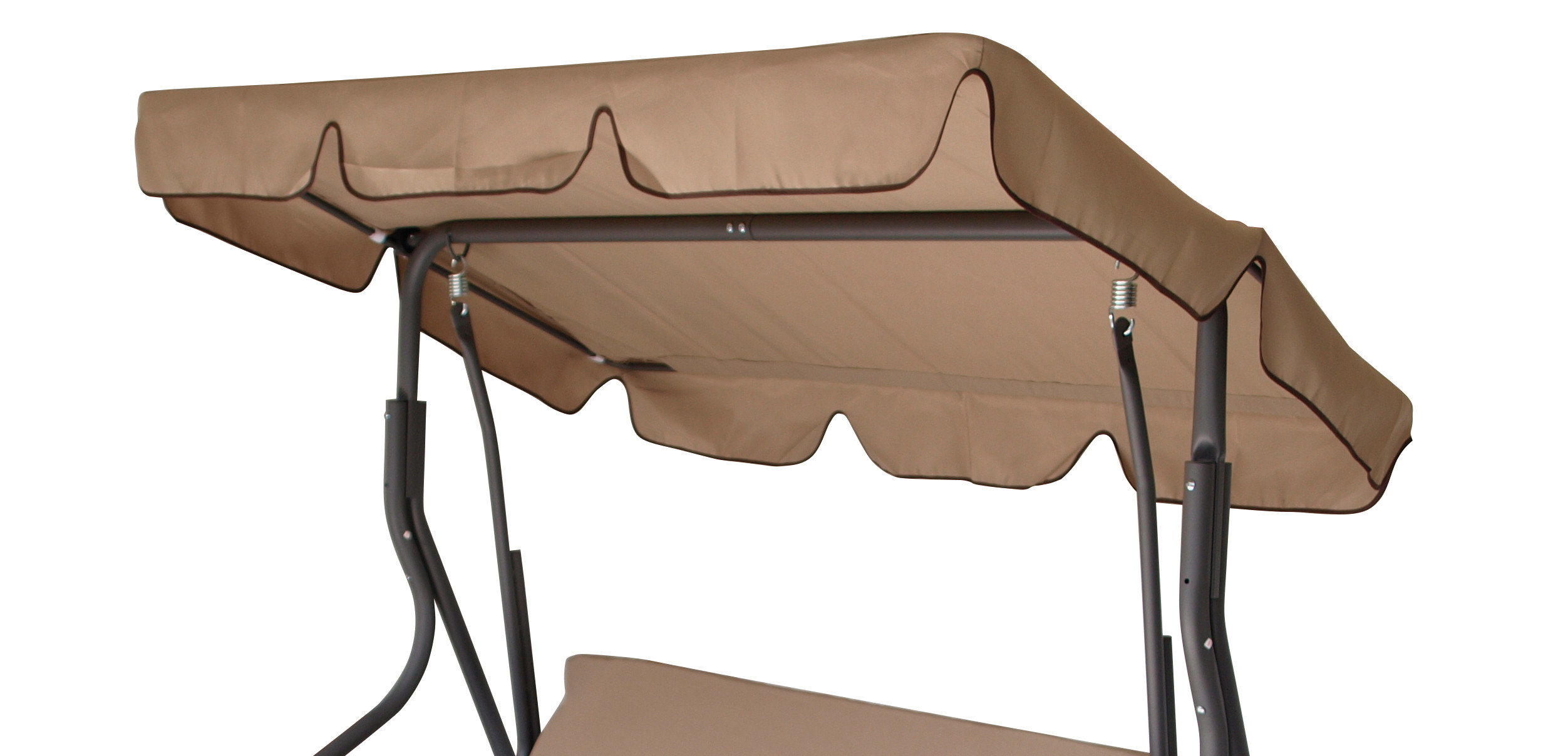 Dachplane für Hollywoodschauk FLORIDA 170x110cm, cremefarben