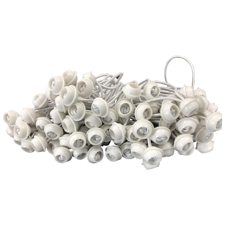 Spanngummi mit Kugel für Zeltplanen, 100 Stück