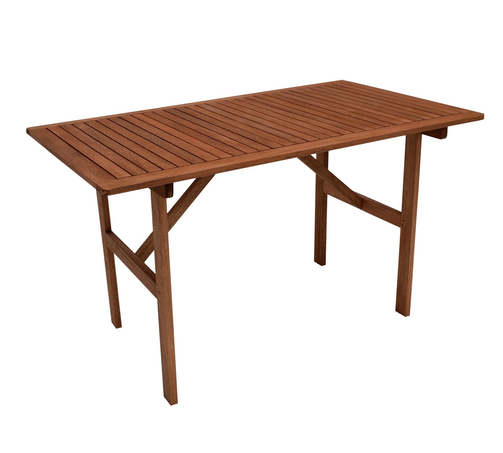 Tisch BRASILIA 120x70cm, Eukalyptus geölt, FSC®-zertifiziert