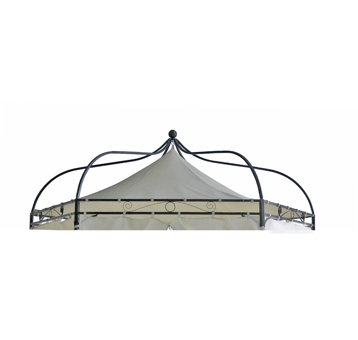 Ersatzdach für Pavillon MODENA, Polyester PVC-beschichtet écru