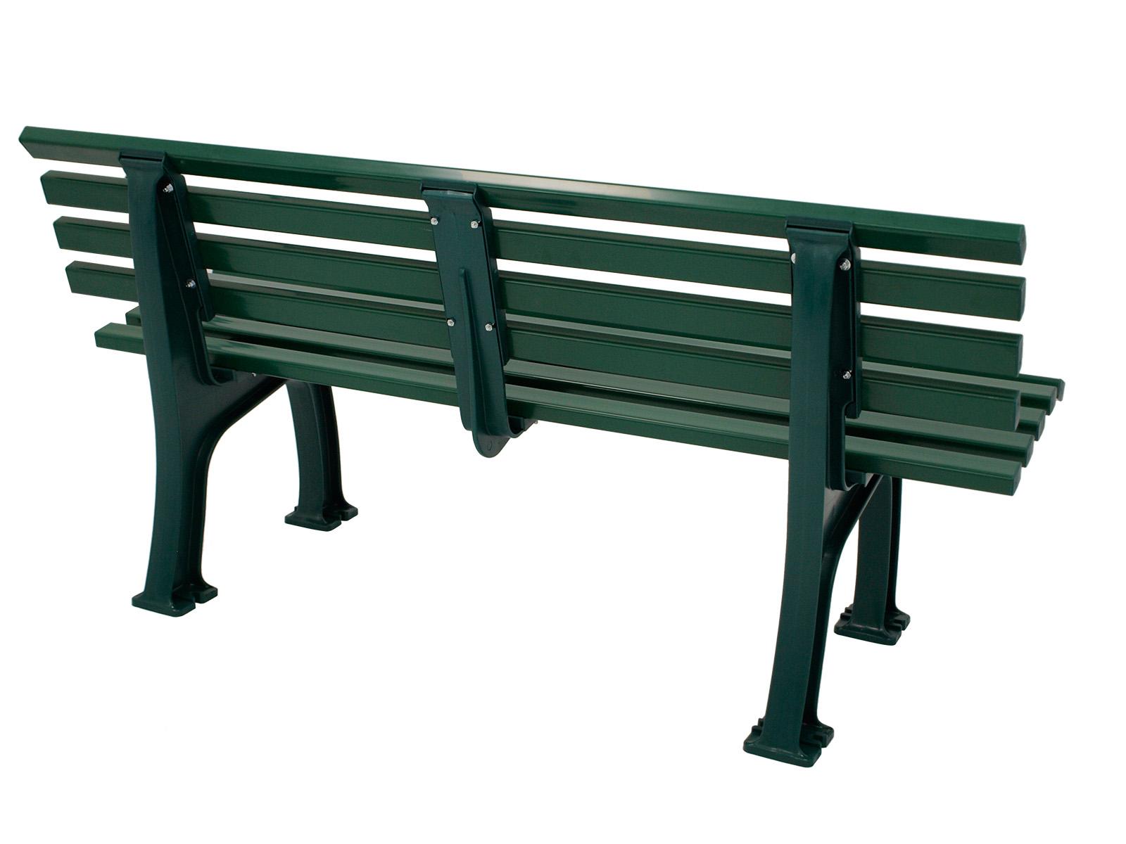 Bank SYLT 3-sitzer von BLOME, Kunststoff grün