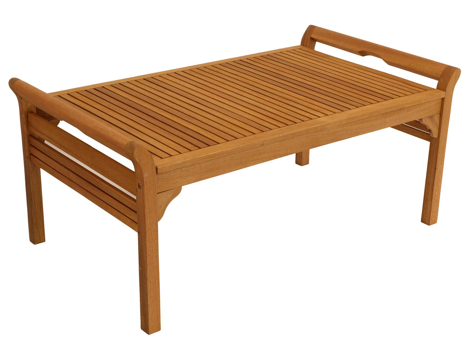 Lounge Set MALAGA 4-tlg. Eukalyptus geölt, mit Polstern creme, FSC®-zertifiziert