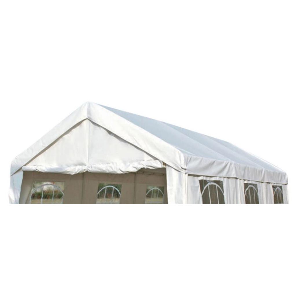 Dachplane PALMA für Zelt 3x6 Meter, PVC weiss
