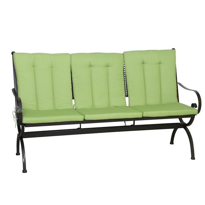Auflage MBM - ROMEO für  Bank 3-sitzer Elegance, grün