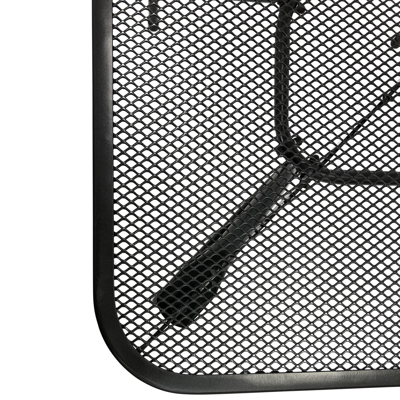 Bistrotisch CLASSIC 70x70cm quadratisch, Streckmetall anthrazit