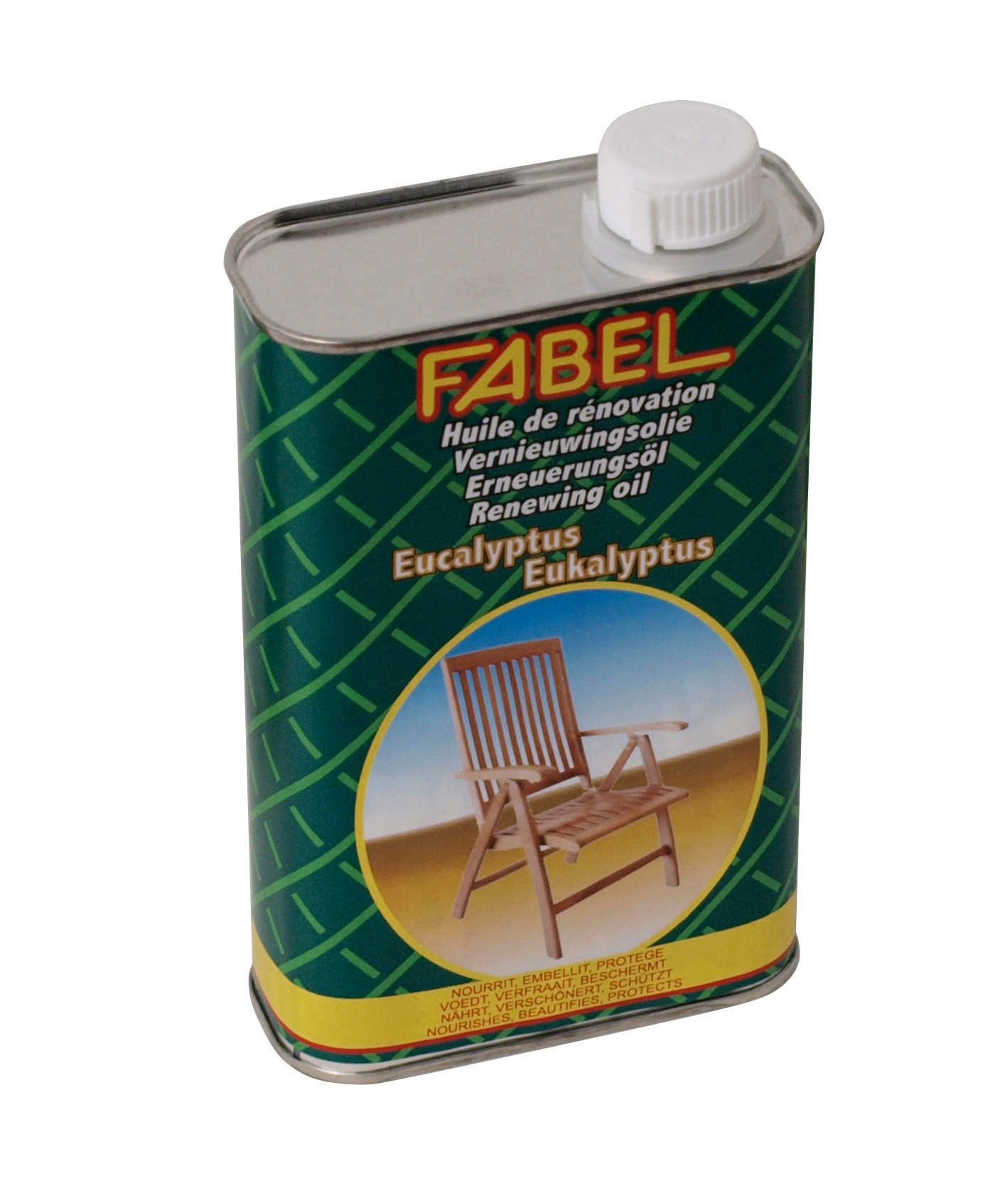 Spezial-Pflegeöl für Eukalyptusholzmöbel, 500ml (€35,96 pro l)
