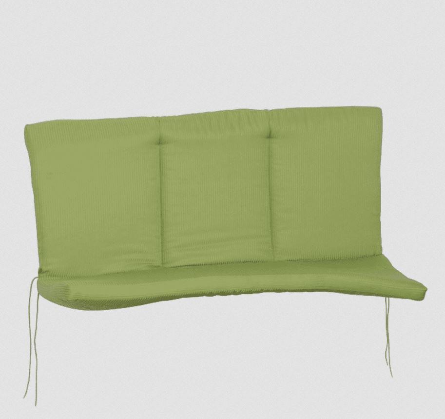 Auflage MBM - ROMEO für Bank 2-sitzer, grün