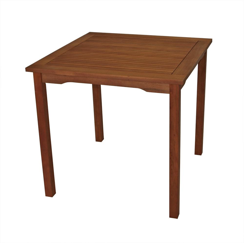 Tisch LAGO 80x80cm, Eukalyptus geölt, FSC®-zertifiziert