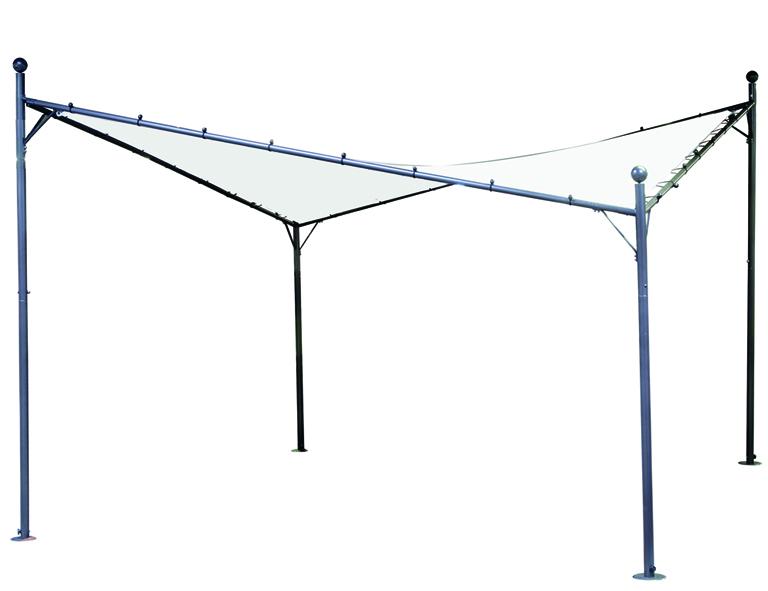 Ersatzdach für Pavillon BERLINO 4x4 Meter, weiss