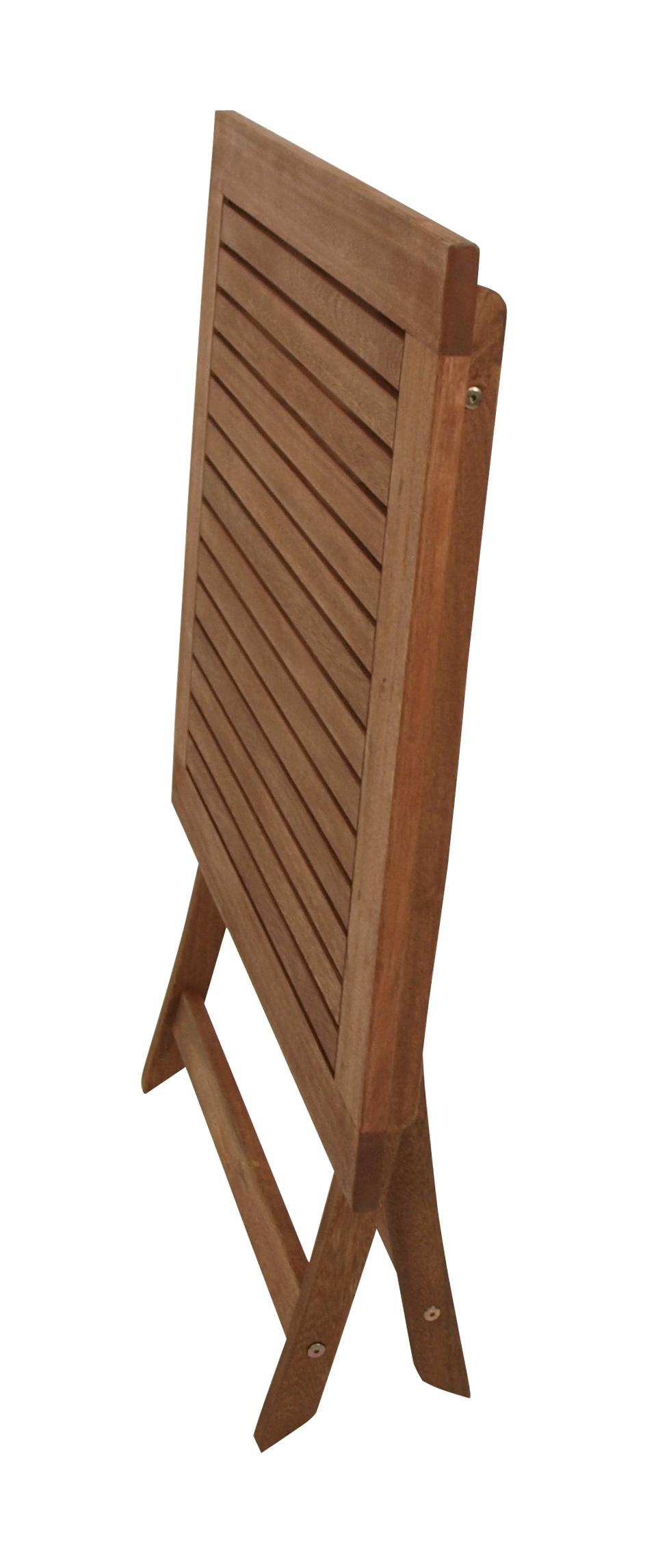 Klapptisch CORDOBA 70x70cm, Eukalyptus geölt, FSC®-zertifiziert