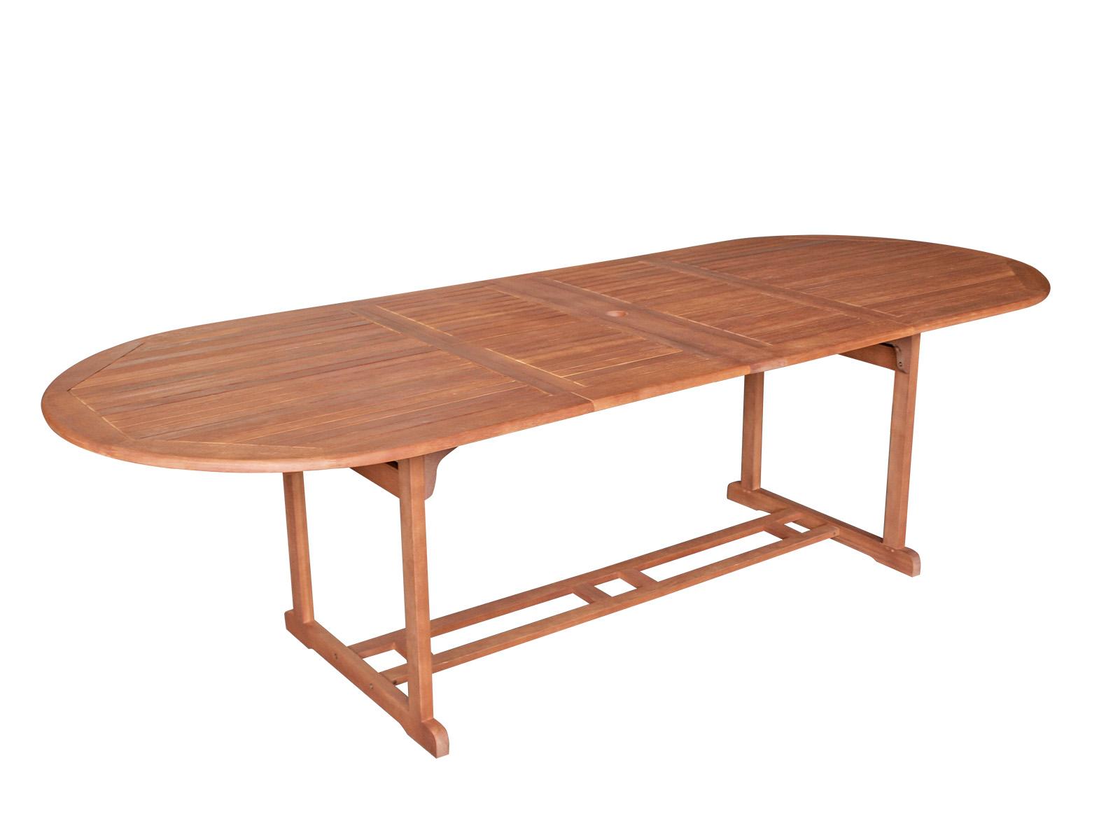Garnitur LAGO 9-teilig, Eukalyptus geölt, FSC®-zertifiziert