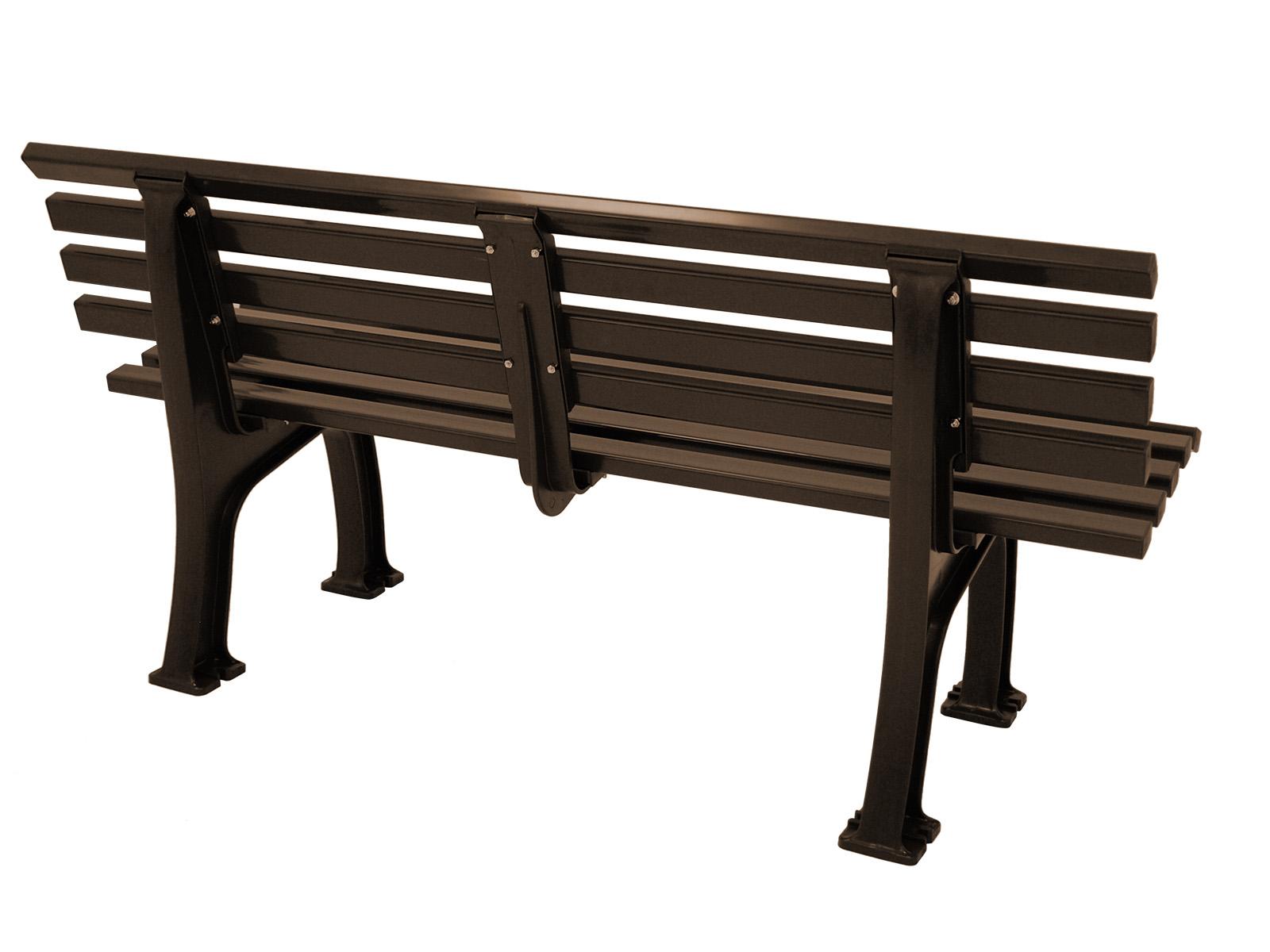 Bank SYLT 3-sitzer von BLOME, Kunststoff braun