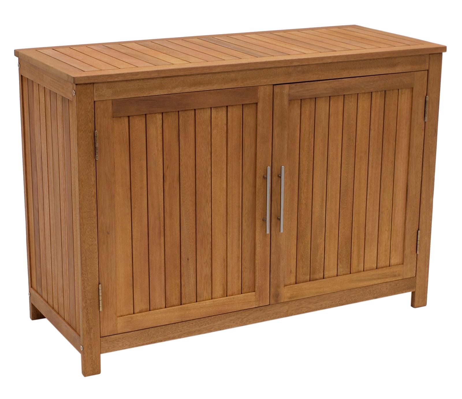 Konsolenschrank CABINET 120x50x85cm, Eukalyptus geölt, FSC®