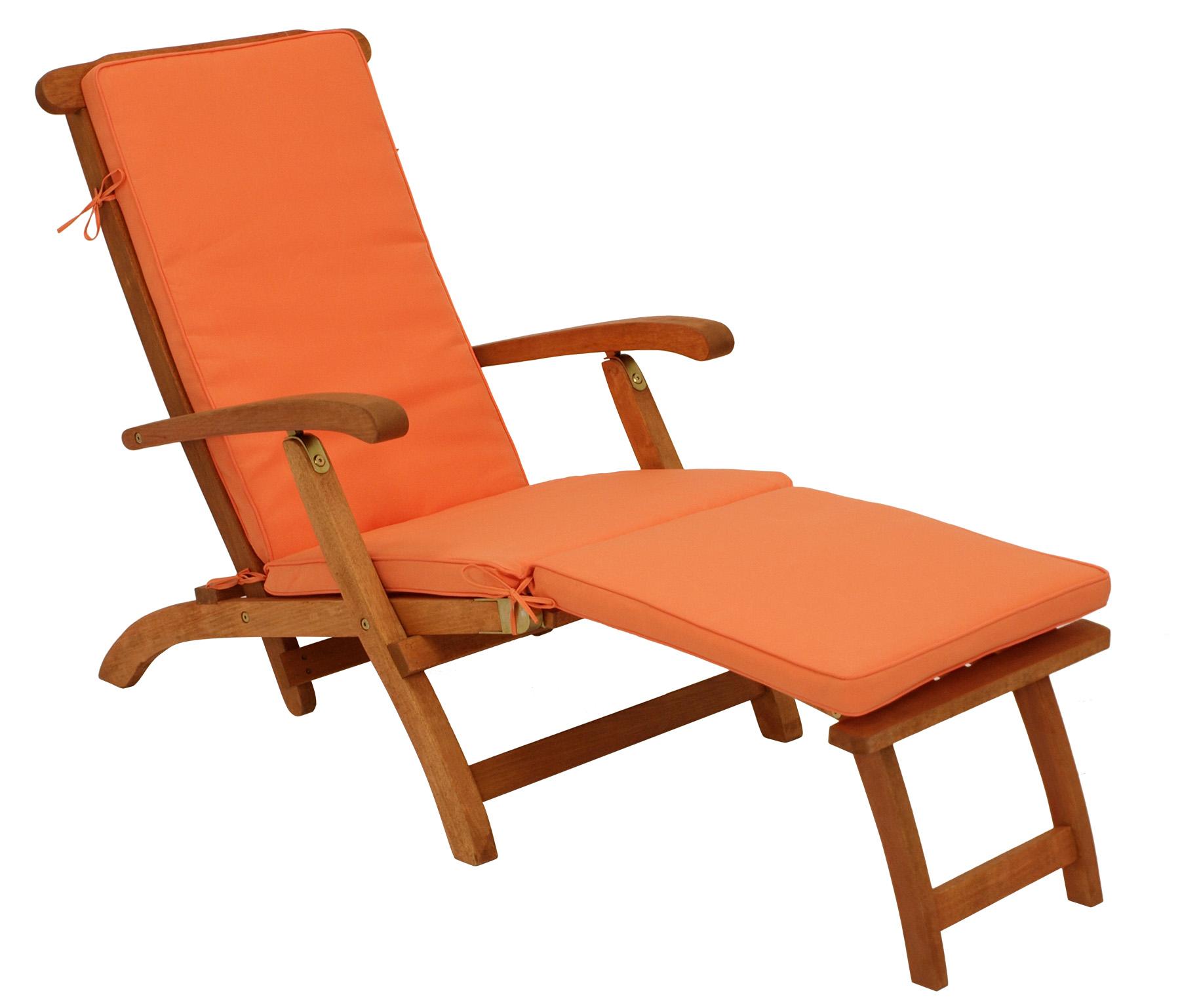 Auflage DENVER für Deckchair, terracottafarben