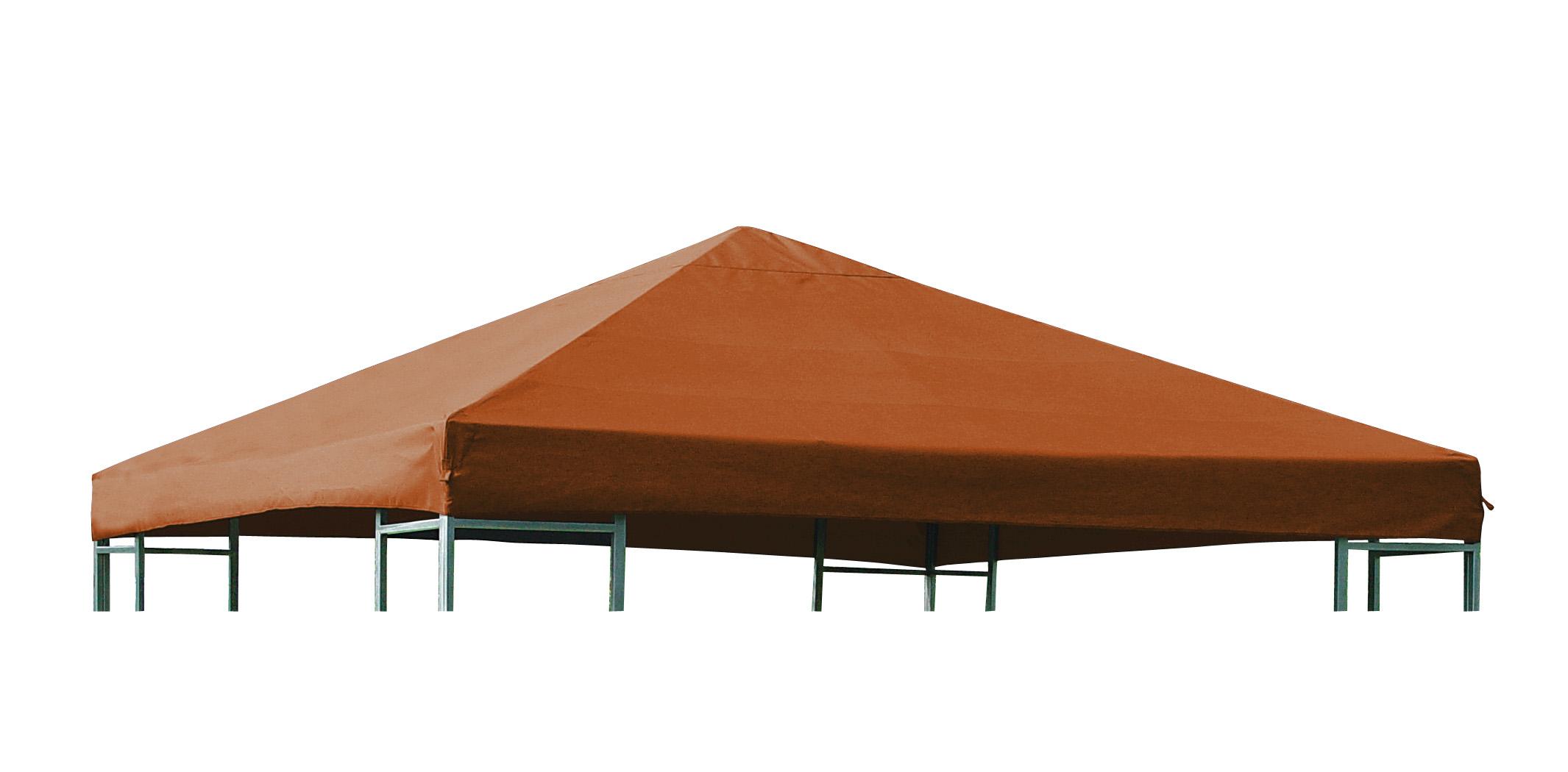 Universal-Ersatzdach für Pavillon 3x3 Meter, terracotta